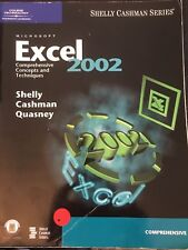 Microsoft Excel 2002 Comprehensive Concepts and Techniques,Shelly Cashman Series