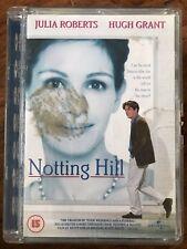 HUGH GRANT JULIA ROBERTS NOTTING HILL ~ 1999 Película GB DVD en SUPERJEWEL