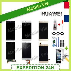 VITRE TACTILE+ECRAN LCD POUR HUAWEI P6/7/8/9/10/20/30 LITE MATE HONOR NOVA+COLLE