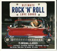 ULTIMATE ROCK N ROLL LOVE SONGS Inc ELVIS PRESLEY, ROY ORBISON, BILLY FURY &MORE