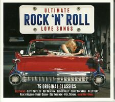 ULTIMATE ROCK N ROLL LOVE SONGS Inc ELVIS PRESLEY, ROY ORBISON, BILLY FURY &MORE