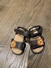 Nwot Gymboree Boy Sandals Infant Size 4 Brown Trail Safari Jungle Lions