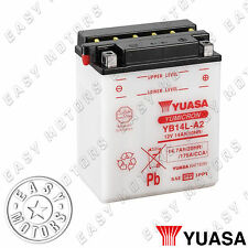 BATTERIA YUASA YB14L-A2 GILERA RC TOP RALLY 600 1990>