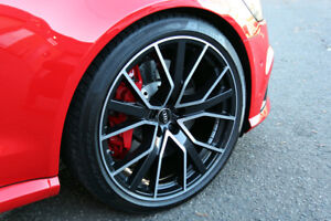 """18"""" Alloy Wheels Audi RS6 Style Polished Face"""