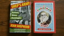 Two books by Jean Shepherd - A Christmas Story & Shep's Army - Vgc