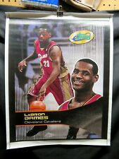 LeBron James, eTopps Canvas Poster Rookie Year 2003, Cleveland Cavaliers, Scarce