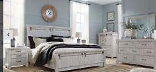 Brashland queen 4 piece bedroom set Ashley furniture