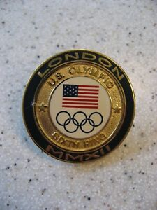 London 2012 Olympics Sixth Ring Aminco Pin - Team America