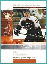 2004-05 SP Authentic Rookie Redemption RR40 of Mike Richards