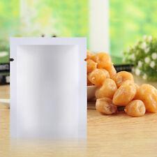 100pcs Aluminum Foil Mylar Bag Vacuum Sealer Food Storage Package Pouches YFR