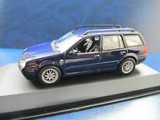 + VOLKSWAGEN VW Golf 4 Variant 1:43 Minichamps  * blau *