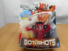 TRANSFORMERS BOT SHOTS CLIFFJUMPER SERIES 2 SUPER BOT 002 HASBRO