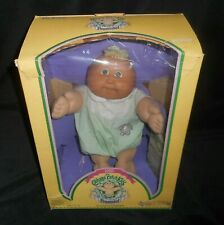 VINTAGE CABBAGE PATCH KIDS IN BOX 1985 DOLL BIRTH CERTIFICATE PAPER BLONDE BOY