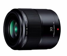 Panasonic Single Focus Macro Lens Lumix G MACRO 30mm/F 2.8 ASPH./MEGA O.I.S New