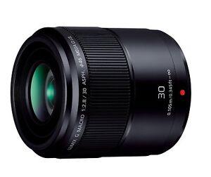 Panasonic Single Focus MACRO Lens Lumix G MACRO 30mm/F 2.8 ASPH MEGA O.I.S New