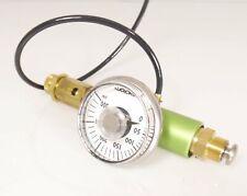 Rock O Meter II - Pressure Tester 10-32 to hose barb - 300 psi max w-