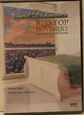 Lower body exercises for people unable to get out of bed gentle top movement DVD