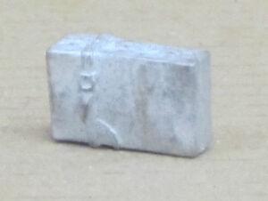 große Reisetasche / Reisekoffer, Zinnfigur Nr. 47, unbemalt, Omen, 1:43