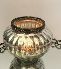 Antique Style Large Glass Bulb Shaped Tea Light Candle Holder Wedding Decoration