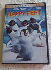 Happy Feet Movie DVD Full Screen Edition