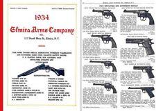 Elmira Arms Company 1934 Gun & Sport Catalog (Elmira NY)