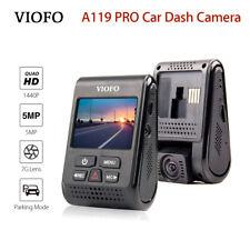 "VIOFO A119PRO 2K HD 1440P 30fps Novatek Car Dash Camera Capacitor 2.0"" TFT LCD"