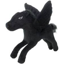 """New Dog Puppy Toy Mighty Junior Liar Pegasus Black Dura-Scal 7 Winged Horse 8"""""""