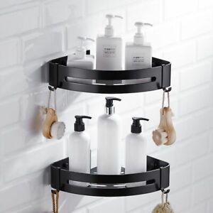 Corner Shelf Bathroom Rack Shower Shampoo Soap Cosmetic Shelves Caddy Basket New
