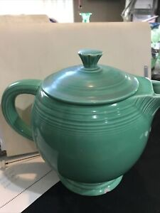 Vintage Fiesta Medium Tea Pot Green