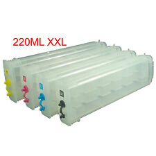 220ML*4 HP 10 82 Designjet 500/ps 800/ps/pc 815/820MFP refillable ink cartridge