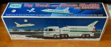 1999 HESS Toy Truck and Space Shuttle w/Satellite Battery Operated Lights