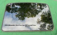 1999 OLDSMOBILE ALERO YEAR SPECIFIC SUNROOF GLASS NO ACCIDENT OEM FREE SHIPPING!