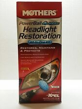NEW Mothers PowerBall 4Lights Headlight Restoration all-in-one Kit Maintains