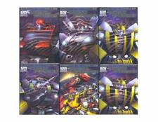 Transformers Robots in Disguise #1 Foil Complete Set   NOS!!!