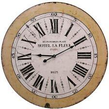 French Word 60Cm Wall Clock - Hotel Le Fleur
