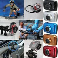 HD Impermeabile Sport Azione Videocamera Camera Dv Video 720P Auto Moto Touch