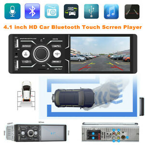 "4.1"" High Definition Car Bluetooth Touch Screen DVR/FM Player With Smart Voice"