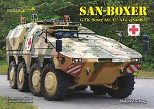 TANKOGRAD IN DETAIL FAST TRACK 16 SAN-BOXER GTK BOXER A0, A1, A1+SgSanKfz