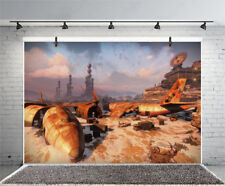 Science Fiction Games Studio Props Vinyl Photo Backdrops Photography Background