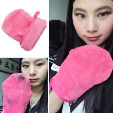 Reusable Microfiber Facial Cloth Pads Face Makeup Remover Cleansing Glove Tool