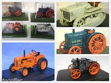 Job lot of 4 new in cases 1:43 scale model diecast tactors rrp £25 plus