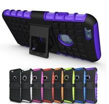 HEAVY DUTY TOUGH SHOCKPROOF HARD CASE COVER FOR APPLE IPHONE 5 / 5s / SE MODEL