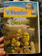 VTech V. Reader Shrek's Vacation Animated E-Book-Ages 5-7-FREE SHIP-NEW & Sealed