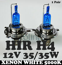 H4 HIR 35/35W P43t 12V Xenon White 5000K Motorbike Bike Headlight Bulbs Globes