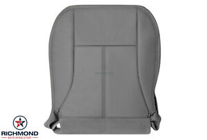 2004-2006 GMC Canyon SLT -Driver Side Bottom Replacement Leather Seat Cover Gray