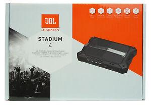 JBL STADIUM 4  Class D 1500 W Peak Full Range 4-Channel Car Amplifier *STADIUM4