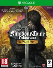 Kingdom Come Deliverance Royal Edition Xbox One * NEW SEALED PAL *