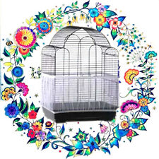 Soft Airy Fabric Mesh Bird Cage Cover Shell Skirt Seed Catcher Guard Bird Nests√