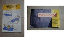 Meccano Set No 1 - Meccano Book of Models 2 - ONE TWO Vintage Rare