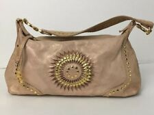 Junior Drake Handbag Marlene GOLD Metallic hobo genuine leather
